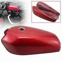 Motorbike Red Retro Cafe Racer Fuel Gas Tank Mount Kit Custom Accessories Universal For Honda CG125 CG125S CG250 Motorcycles