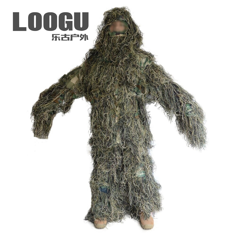 Outdoor Chicken Camouflage Velcro Camouflage To Jedi Survival Jungle Hunting Clothes Geely Camouflage Garment CS Camouflage