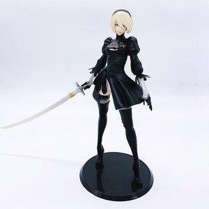 Image 1 - NieR: Automata YoRHa No 2 Type B Figurine 1/6 échelle peint Figure YoRHa No 2 Type B Jouet EN PVC Brinquedos Anime
