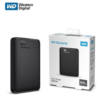 "Western Digital WD Elements 2.5"" Portable 1TB 2TB 4TB 5TB USB3.0 External Hard Drive Hdd Disco Duro Externo Disque Hard Disk"