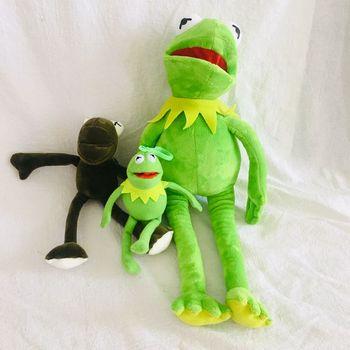1pcs 40cm Sesame Street KERMIT THE FROG PLUSH SOFT TOY THE MUPPETS SHOW FILM TEDDY BNWT for baby kids christmas dolls