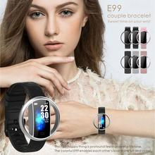E99 Smart Watch Heart Rate Blood Pressure Oxygen Sleep Monitoring IP67 Waterproof Multiple Dial Fashion Bluetooth Sports
