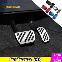 Xburstcar für Toyota C-HR CHR 2016 - 2020 ZU Aluminium Legierung Auto Bremspedal Gaspedal Auto Pedale Abdeckung Zubehör