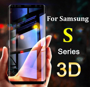 Protective Glass For Samsung S9 S8 Plus S7 S6 Edge Tempered Glas Screen Protector 3D Case On Galaxy 8s 9s 7s S 9 8 7 6 edge film(China)
