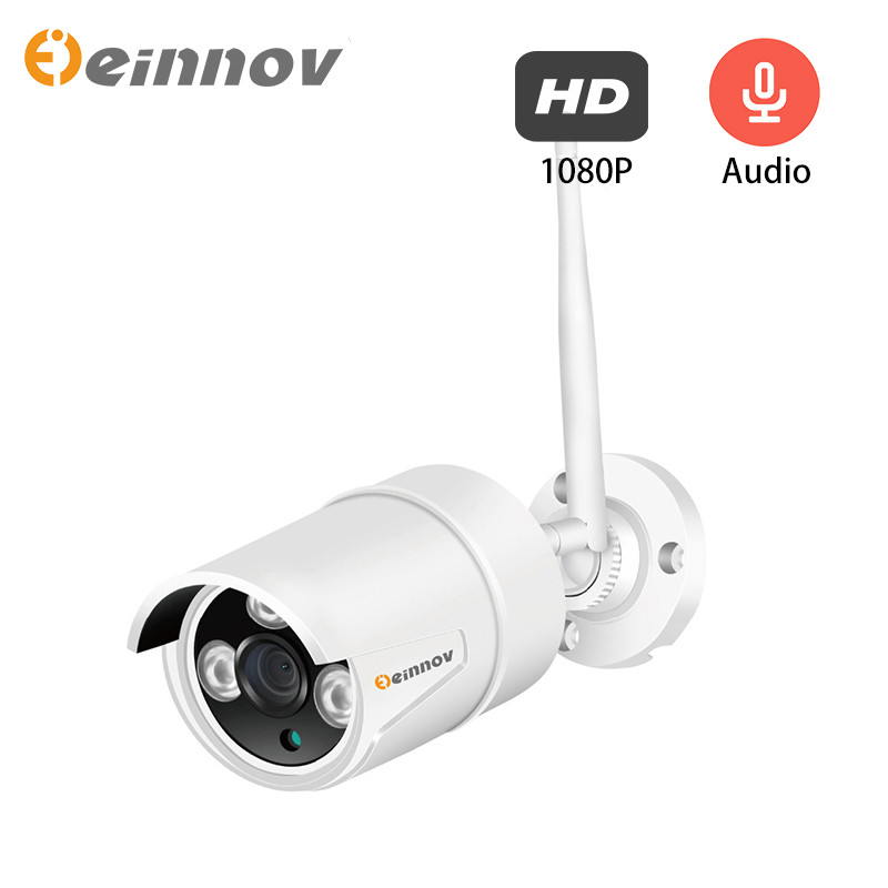 Einnov 1080P IP Camera 2MP Video Surveillance Wifi Camera Home Wireless Security For Home Audio Set Outdoor HD Onvif Camhi