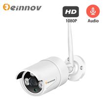 Einnov 1080P IP kamera 2MP Video gözetim Wifi kamera ev kablosuz güvenlik ev ses seti açık HD Onvif camhi