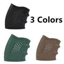 Funda de guante antideslizante para la mayoría de pistolas Glock accesorios de caza pistola táctica agarre de goma