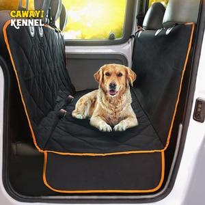 Image 1 - Cawayi מלונה כלב Carrier סוגר עמיד למים לחיות מחמד כלב רכב מושב כיסוי כרית חתולי ערסל מגן חתול תחבורה Perro Autostoel