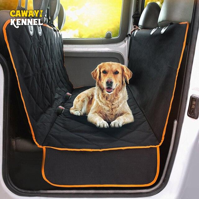 Cawayi מלונה כלב Carrier סוגר עמיד למים לחיות מחמד כלב רכב מושב כיסוי כרית חתולי ערסל מגן חתול תחבורה Perro Autostoel