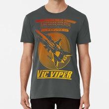 T-shirt de la vieille école de vico Viper, t-shirt de la Viper de la Viper de la Viper de la Viper, dégradé de Salamander, Konami, Shmup Shoot Em Up Danmaku