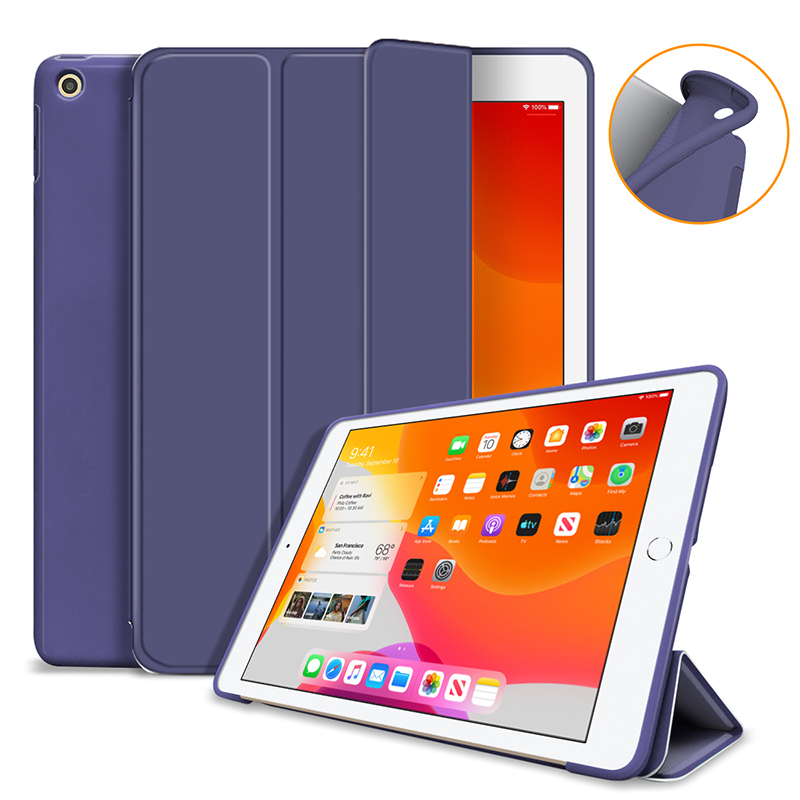 dark blue White case For iPad 10 2 2019 2020 Cover for 7th 8th generation A2197 A2198 A2200 A2270