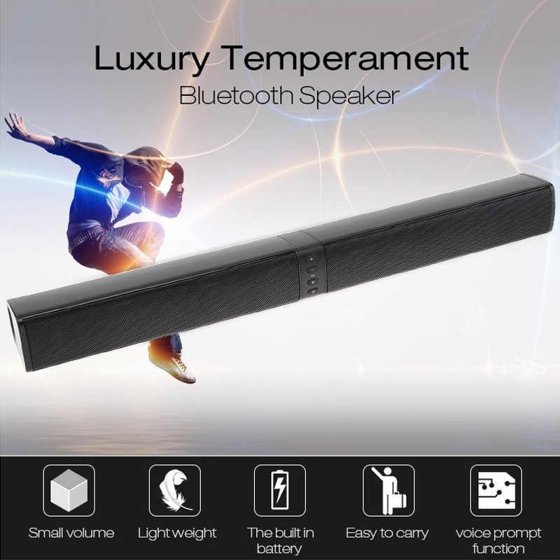 BS-36 ホームシアター多機能bluetooth soundbarsスピーカーと 4 ホーン/3Dステレオサウンドサポート折りたたみ/分割テレビ/pc