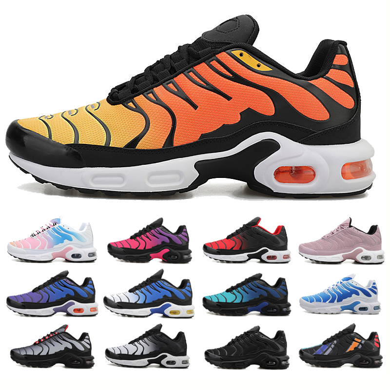 2020 AIR Original Tn Plus Professional Air Cushion Mesh Breathable Running Shoes Spring Autumn Walking Shoes Men Women Sneakers