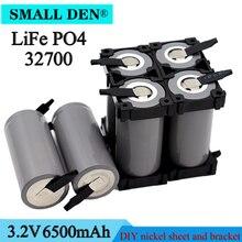 Mới 3.2V 32700 6500MAh LiFePO4 Pin 35A Xả Liên Tục Tối Đa 55A Cao Công Suất Pin + DIY Niken ga Và Giá Đỡ