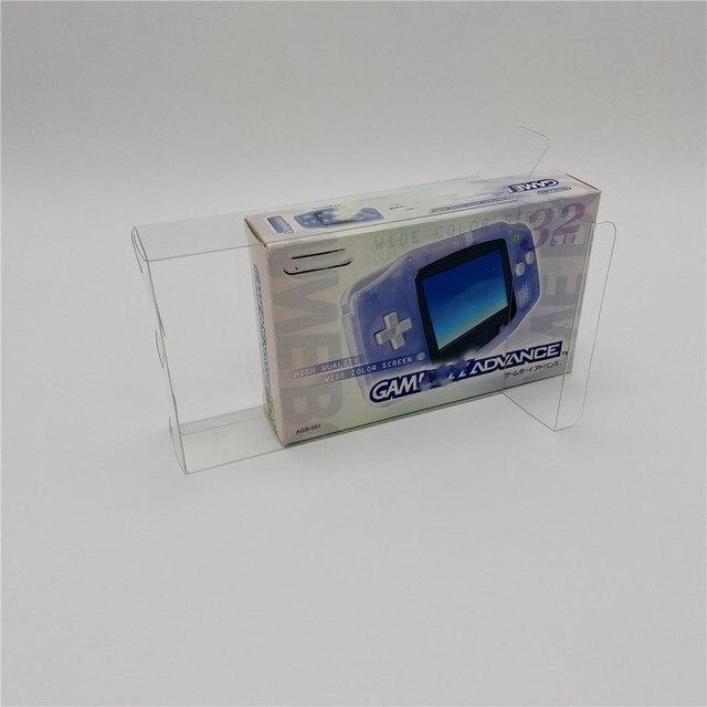 אוסף תיבת תצוגת תיבת הגנת תיבת אחסון תיבת מתאים יפני Nintendo Game Boy Advance GBA