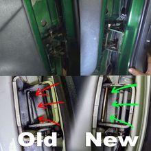 Дверные петли штифты и втулка комплект 2 двери для 1994-2004 Chevy S10& GMC S15 B36B