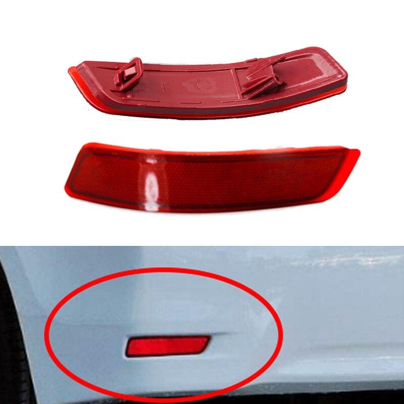 1 пара задние противотуманные светильник s для Защитные чехлы для сидений, сшитые специально для Toyota Corolla 2014-2018 Lexus стайлинга автомобилей без
