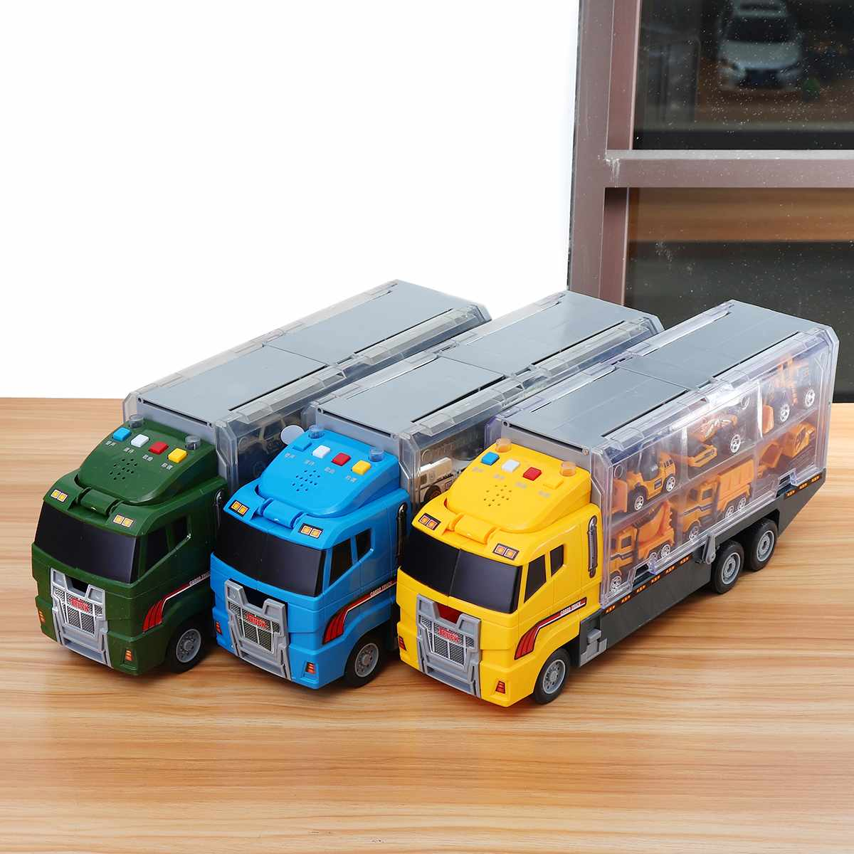 Kids Cars Toy Large Construction Truck Excavator Digger Demolition Vehicle Gifts