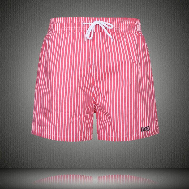 Hot Men's Brand Board Shorts Beach Shorts Gym Surfing Bermuda Beach Pants Eden Park Swim Short Men Striped Boardshorts Swimwear