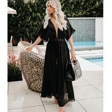 Летнее Длинное Платье новинка 2019 повседневное летнее платье