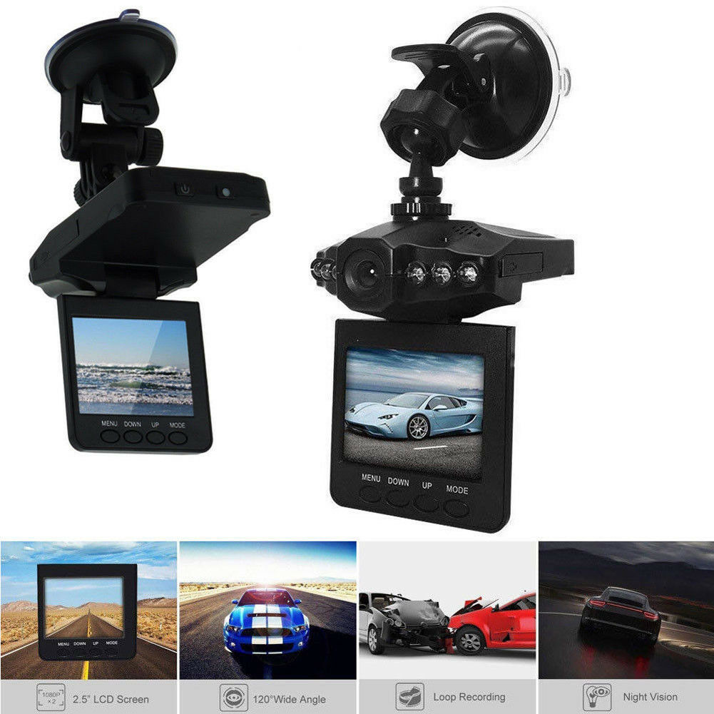 Car Camera Driving Recorder Dash Cam With 32G SD Card HD 1080P Night Vision DVR
