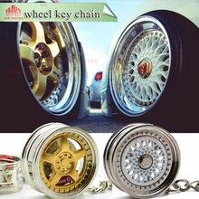 Автомобильный брелок кольцо для ключей автомобиля брелок мини 5 обод колеса Модель брелок Тюнинг автомобиля Автозапчасти брелок