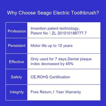 Электрическая зубная щетка SEAGO Oral Smart SG575 5