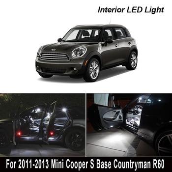 13 sin errores para 2011-2013 Mini Cooper S Base Countryman R60 Paquete de Kit de luz Interior de lámpara LED