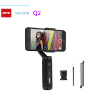 цена на Zhiyun Smooth Q2 3-Axis Handheld Gimbal Stabilizer for Smartphone iPhone/Samsung for Vlog YouTube video Record Street Snapshots