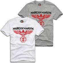MARILYN MANSON SPREAD EAGLE BAND WEHRMACHT REICHSADLER T-SHIRT A448 Print