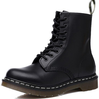 morazora plus size 34 43 new keep warm ankle snow boots round toe pu soft leather platform shoes woman sweet women winter boots New Woman Boots Platform explosion Shoes Woman Leather Wool Warm Winter Boots Women Plus Size Women Shoes Designers