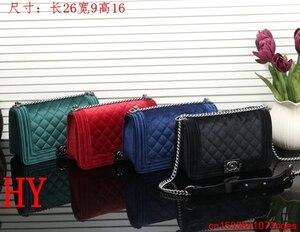 Luxury Designer Brand Chanel- Handbag Shoulder Bags Women Messenger Bag Bolsa Feminina Handbags C140