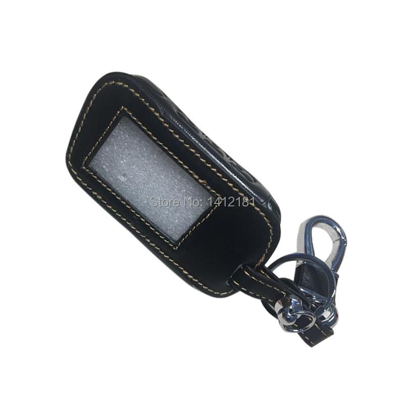 Leather Case Body Cover For StarLine A39 A36 A93 A63 Two Way Car Alarm System LCD Remote Control Key Chain Fob A93