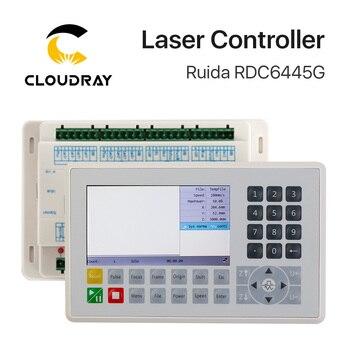 Ruida RDC6445 RDC6445G Controller for Co2 Laser Engraving Cutting Machine Upgrade RDC6442 RDC6442G trocen co2 laser controller awc708s dsp for k40 co2 laser engraving cutting replace lihuiyu ruida leetro yueming golden