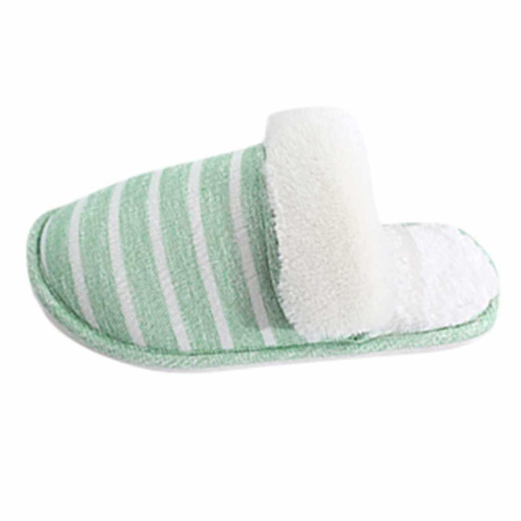 SAGACE vrouwen & mannen thuis slippers indoor winter warm Antislip katoen slippers vrouwelijke Effen indoor home schattige vrouwelijke slippers September 4