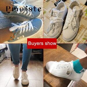 Image 5 - Chaussures en toile pour femmes, baskets de printemps automne 2020 en Denim solide bleu/nouveauté, à la mode