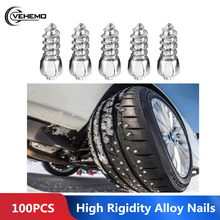 100Pcs Winter Car SUV Vehicle Anti Slip Screw Stud Tire Snow Nail Universal Practica Anti-Skid Bolt Winter Car Truck Anti Slip(China)