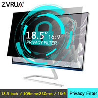 18.5 inch (409mm*230mm) Privacy Filter Anti Glare LCD Screen Protective film For 16:9 Widescreen Computer Notebook PC Monitors