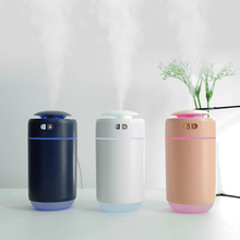 Electric-Air-Humidifier Essential-Oil-Diffuser Car-Appliances USB with Colorful Lights