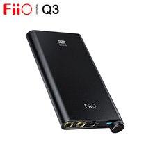 Fiio q3 ak4462 chip thx equilibrada usb dac amplificador amp xmos xuf208 pcm768k dsd512 decodificação 2.5/3.5/4.4mm saída para o telefone andrei