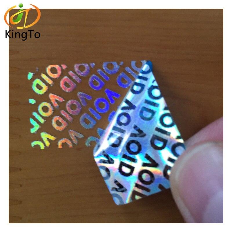 Custom VOID Tamper Evident Security Hologram Label Sticker