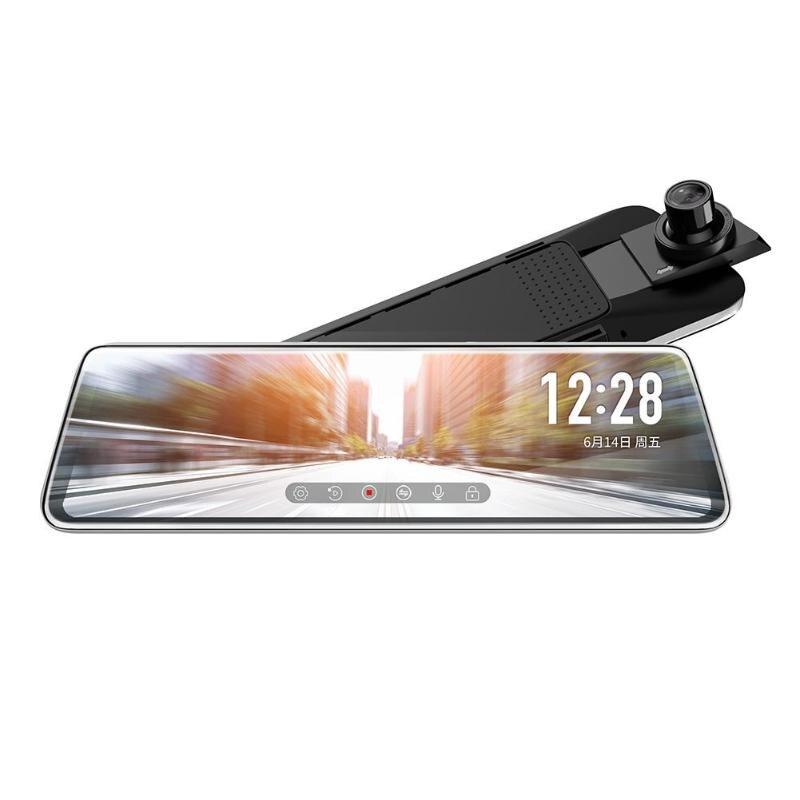 JADO Dashcam-Camera Media Rear-View-Mirror-Dvr Touch-Screen Car ADAS Stream Night-Vision