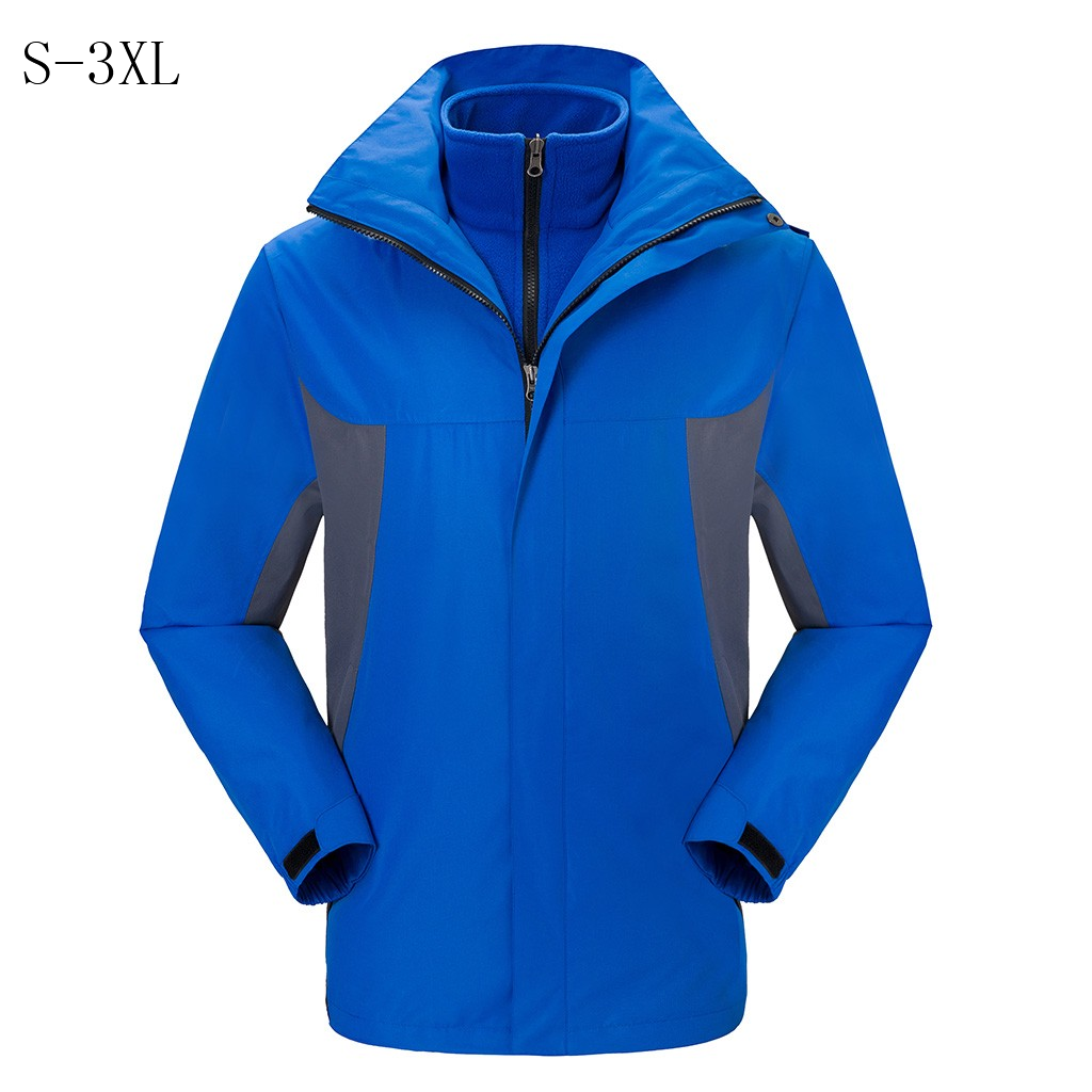 Solid waterproof loose thick Windbreaker windproof warm brand jacket classic   Trench   men's Long Sleeve Quality coats hooded