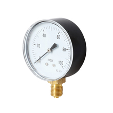 Air-Oil-Pressure-Gauge TS-Y60-0-100mbar  Vacuum Manometer Mini Dial Gauge for Water High Accuracy Hydraulic Pressure Gauge 3000pa professional clean room differential pressure gauge manometer gas air