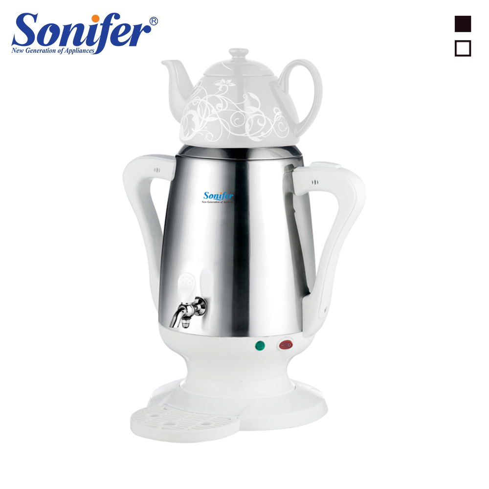<font><b>4L</b></font> Stainless Steel Ceramic Electric <font><b>Kettle</b></font> Large Size Capacity Household Elcetric Kitchen Samovar Adjustable Temperature Sonifer image