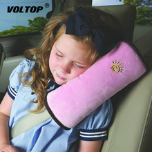 Baby Children Car Seat Belt Pad Soft Headrest Seatbelt Cushion Neck Pillow Vehicle Strap Harness Head Cover