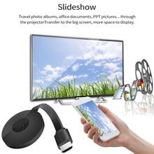 2.4GHz WiFi 4K HDMI Tương Thích Không Dây Màn Hình Tivi Dongle Adapter Màn Hình Phát Video Adapter Airplay Cho Máy Tính điện Thoại Máy Chiếu