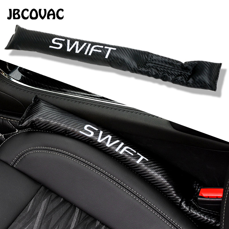 Car Styling 2pcs Auto Accessories Seat Gap Pad Filler Strip Leakproof Cover Case For Suzuki Swift Jimny SX4 Grs Grand Leak Proof