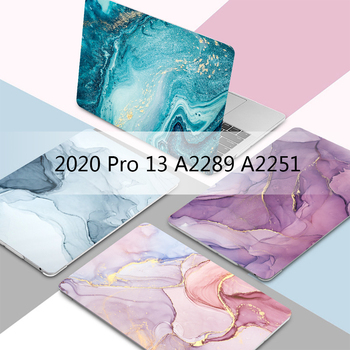 MTT 2020 Laptop Case For Macbook Pro 13 inch A2289 A2251 Marble Cover for macbook air pro 11 12 13 15 16 Laptop Sleeve coque цена 2017