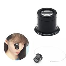 Monocular Lupe 5X/10X Tragbare Lupe Objektiv Juwelier Lupe Werkzeug Auge Lupe Len Reparatur Kit Werkzeug